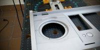 Puerta interior, inserción del panel digital de control iQ-eye