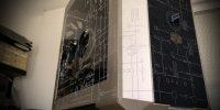 Obelisk, criptografía/estampado exterior